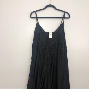 Lane Bryant Dresses - Lane Bryant Silk Blend Floral Maxi